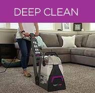 BISSELL Pawsitively Clean Pet Carpet Cleaner provides a deep clean.