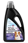 BISSELL Clean and Freshen with Febreze carpet cleaning formula deep cleans and removes pet odors.