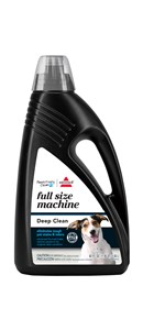 BISSELL Pawsitively Clean Full Size Machine carpet cleaning formula for dogs is specially formulated for full-size carpet steamers and large areas.