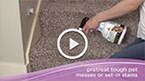 Clean more than the floor with the BISSELL Pawsitively Clean deep cleaning accessories. Watch the video for simple step-by-step instructions for cleaning pet messes, upholstery, stairs and hard to reach areas.